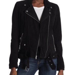 UGG Suede Moto Black Jacket Size XS NEW WITH TAGS
